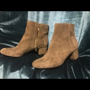 Michael Kors Sabrina Mid Chain Heel Booties